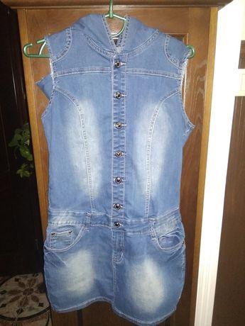 Плаття джинсове, S-M, 36-38 розмір