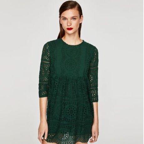 Платье zara (прошва)