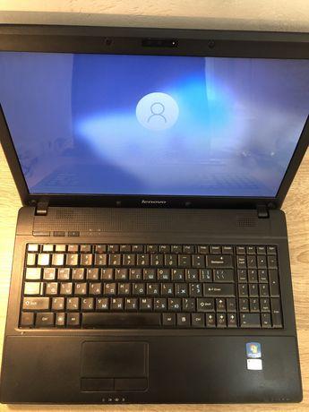 Ноутбук Lenovo G650, i3 1 gen 4 гб,320 hdd, рабочая батарея