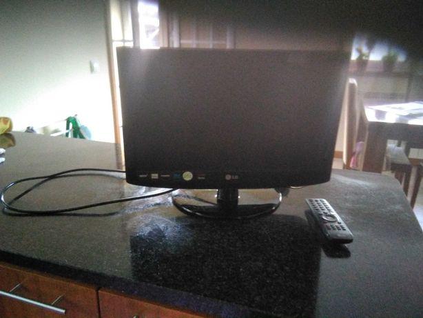 TV LG 19LD320 a funcionar