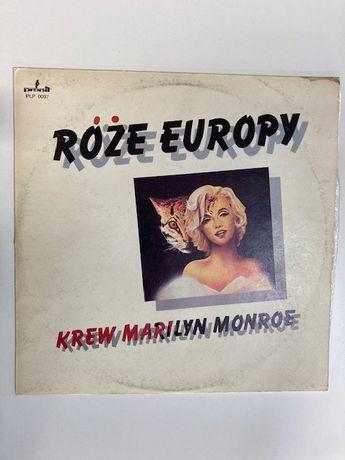 "Róże Europy ""Krew Marilyn Monroe"" płyta winylowa 1989r"