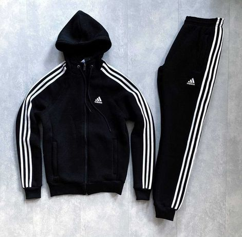 > > Спортивный костюм Adidas > ПОЛОСЫ > НА ФЛИСЕ / ЗИМА