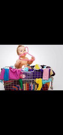 Пакет детских вещей от 0 до 3 месяцев зимние и летние