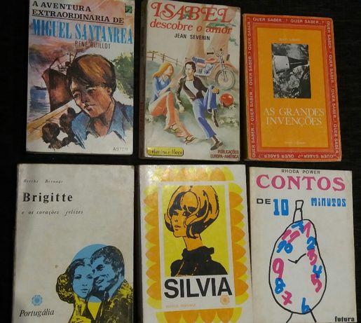 Lote de livros juvenis ANTIGOS