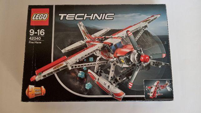 Nowy Lego 42040 Technic Samolot Strażacki Straż Pożarna 2w1
