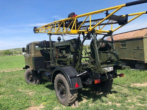 Буровая установка УГБ 50 на базе Газ 66