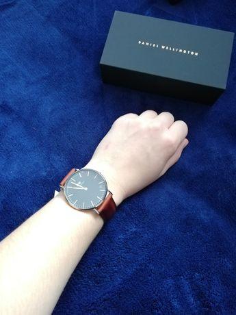 Zegarek Daniel Wellington brązowy pasek skórzany