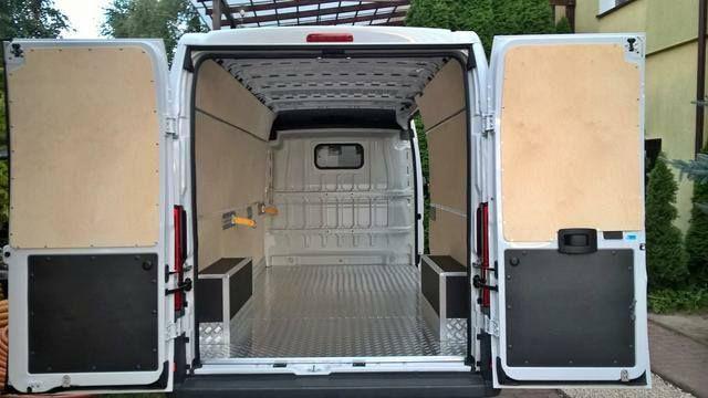 Renault Master L1H1 ochrona przedziału ładunkowego