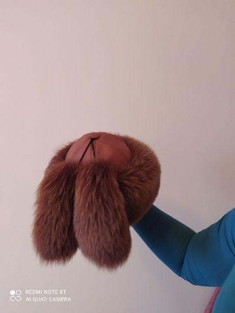 шапка меховая натуральная