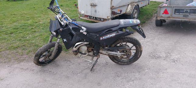 Motocyk cross enduro rieju