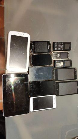Lote de telemóveis / smartphones / tablets