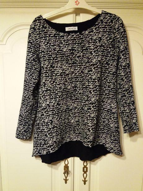 bluzka bawełna dresowa