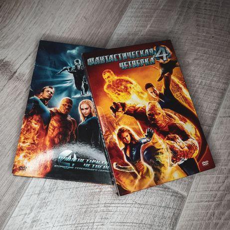 DVD Фантастическая четверка