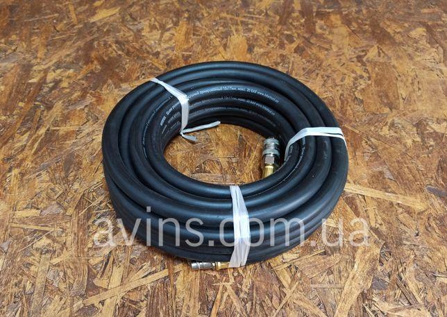 Шланг резиновый воздушный армированный 20 атм, 10x17 мм, 10 м 20 м