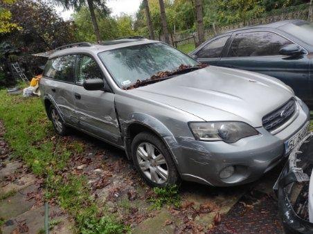Sprzedam uszkodzone Subaru Outback
