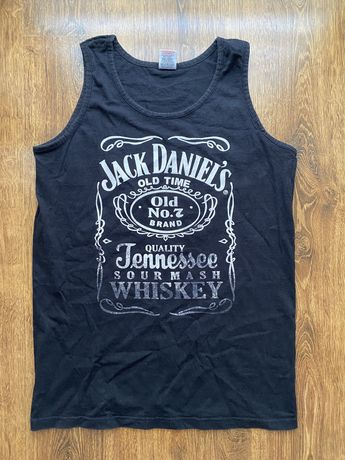 Czarna koszulka JACK DANIELS, rozmiar L