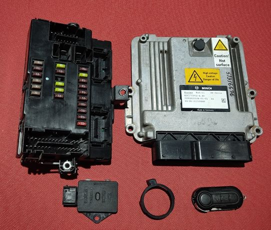 Блок управления двигателем Fiat Ducato 3.0 JTD 0281B103JA-01-01