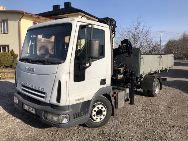 Iveco Eurocargo 100E18 - Wywrot Wywrotka HDS