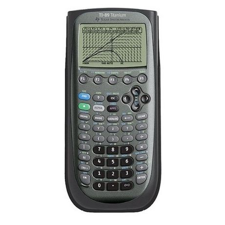 Calculadora Gráfica Texas Instruments-TI 89 titânio