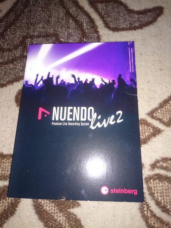 Oprogramowanie Nuendo Live 2 nowy