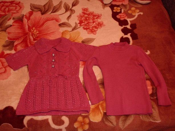 свитер +гольф двойка 300руб.на девочку 3-6лет