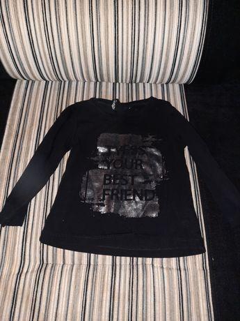 Кофточка чёрная, для девочки2-3,5 лет