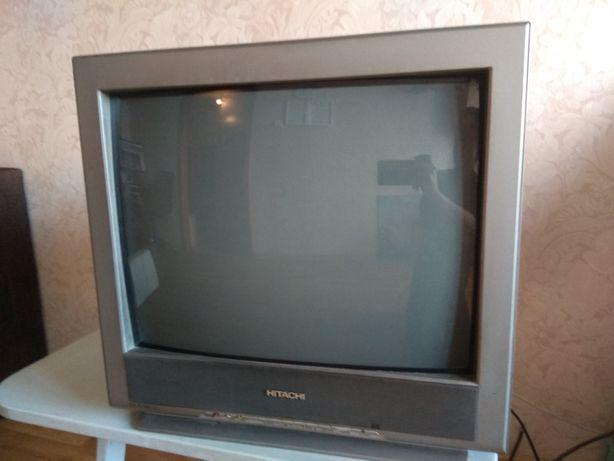 Телевизор HITACHI + DVD-плеер Pioneer, все рабочее