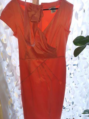 Morelowa sukienka roz 40