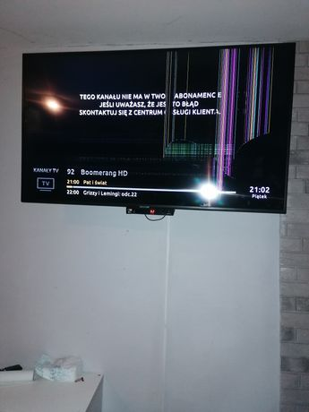 Sprzedam  telewizor uszkodzona matryca