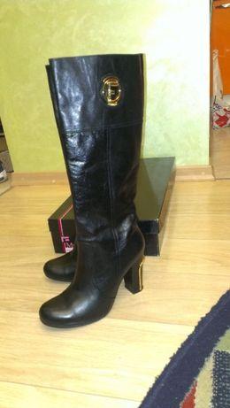 Сапоги Marino Fabiani кожаные евро зима 39 размер 2200грн