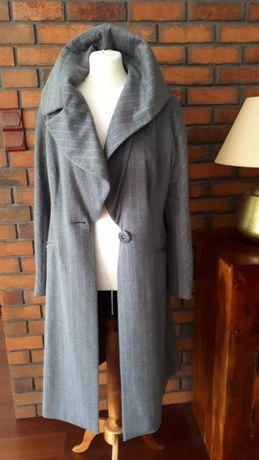 MONNARI szary płaszcz r.42 wełna