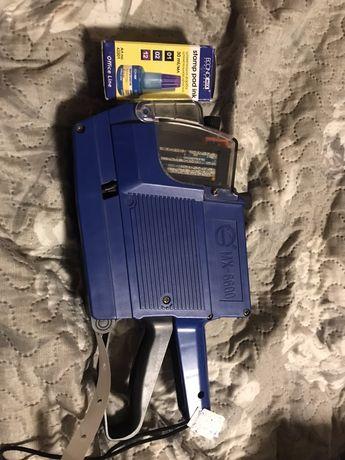 Пистолет для ценников MX-6600 двухстрочный