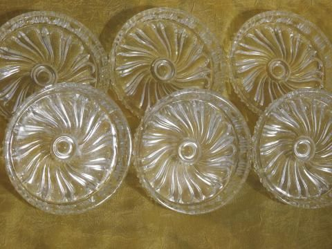 Śliczne szklane podkładki/podstawki pod kubek