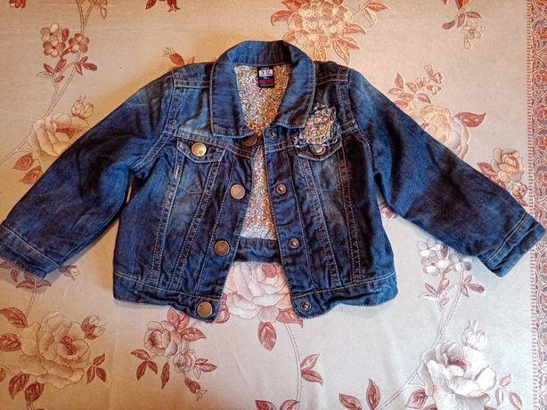 Джинсовый пиджак на девочку