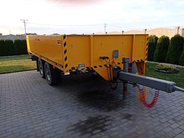Przyczepa ciężarowa tandem sztywna  przyczepa