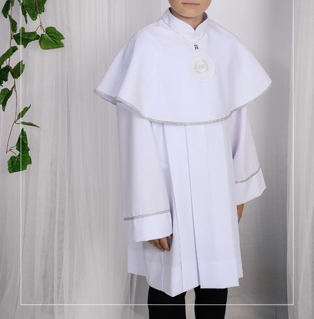 Alba komunijna dla chłopca roz.140/146