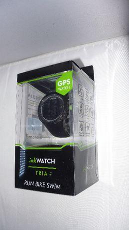 Smartwatch inkWatch Tria+ w kartoniku nowy gps BT puls
