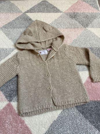 Sweterek zara rozm 86