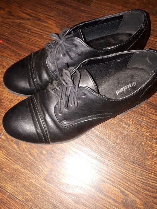 Buty skórzane chłopięce Brzoza - image 1