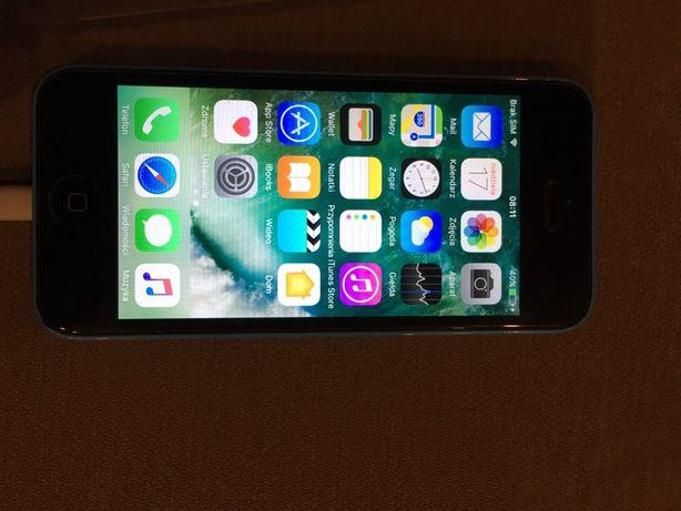 IPhone 5c 16 GB niebieski