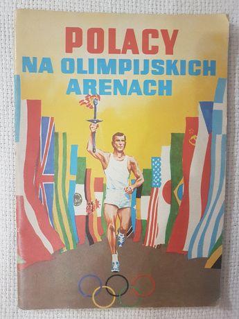 Komiks Polacy na olimpijskich arenach