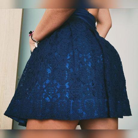Ana Sousa Spódnica koronka rozkloszowana piękna jak nowa