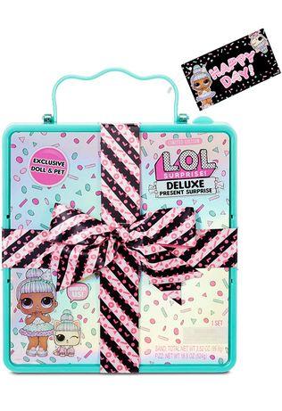 Подарочный набор лол кукла lol deluxe lol surprise оригинал