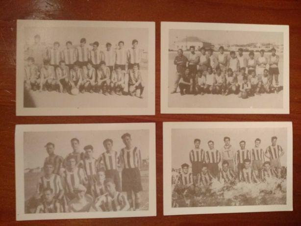 Calendário de bolso de antigas equipas do Algarve