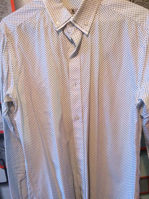 Рубашки белые slim fit Чернигов - изображение 1