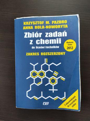 Zbiór zadań z chemii rozszerzony Pazdro
