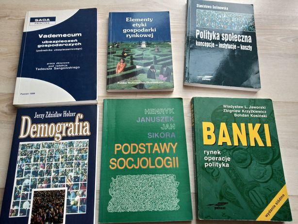 Książki Demografia Ubezpieczenia Socjologia Etyka Banki