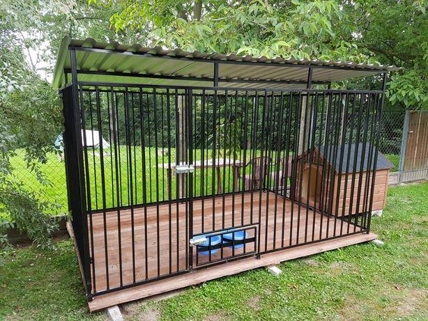 zagroda Klatka kojec Buda dla psa 4x3m Montaż Solidny