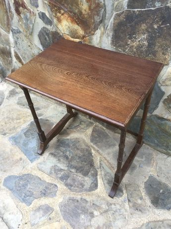 Mesa Madeira maciça de Sucupira Antiga 52 cm