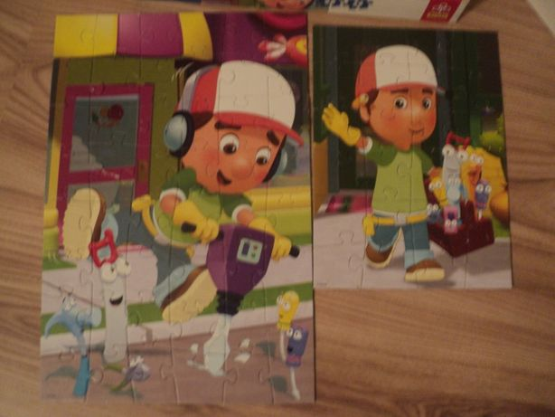 Trefl Puzzle 2 w 1 Maniek Złota Rączka
